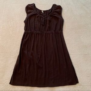 Merona Brown Boho Dress. Women's Size Medium